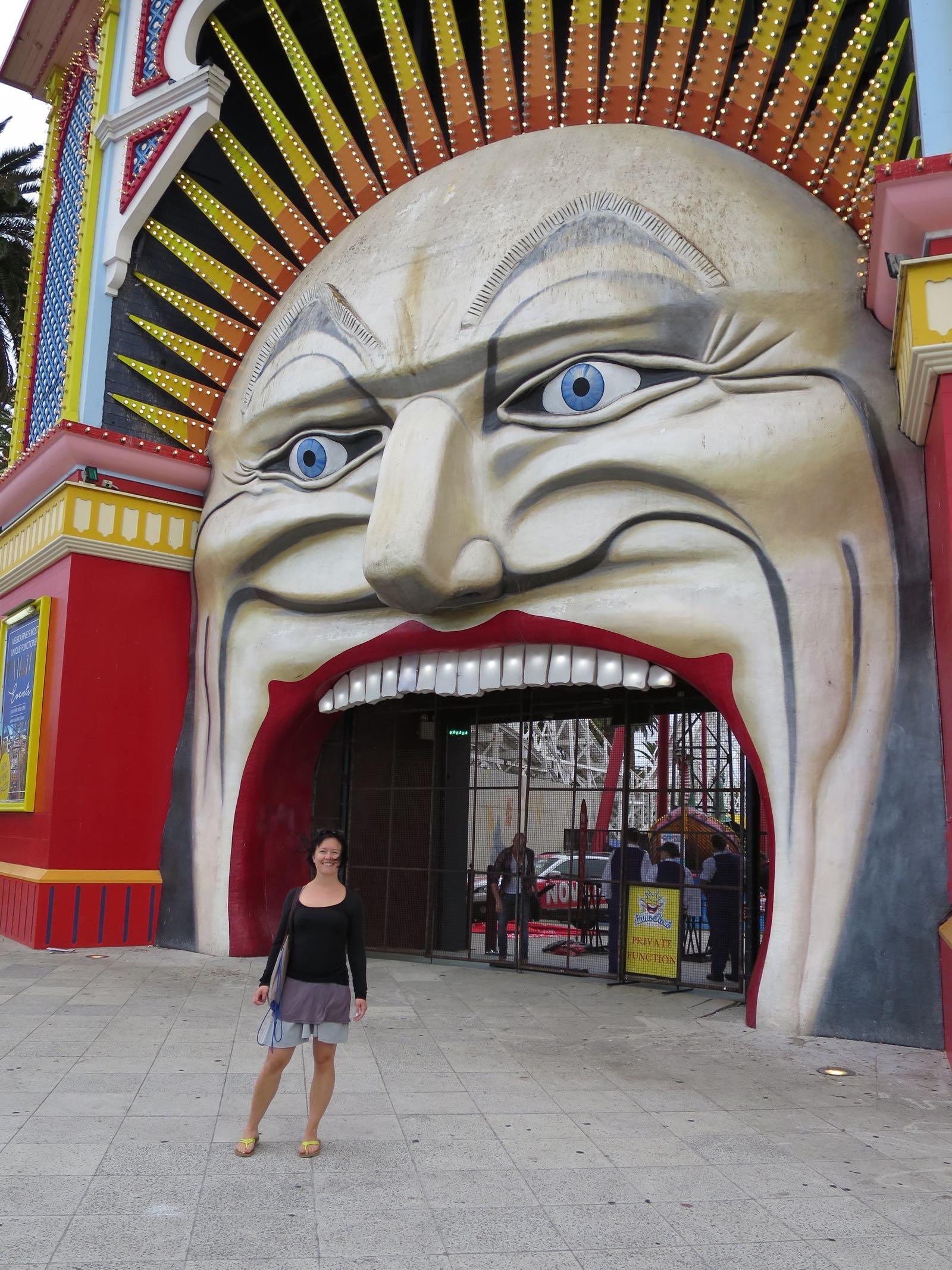 St. Kildan Luna Park on perustettu jo vuonna 1912