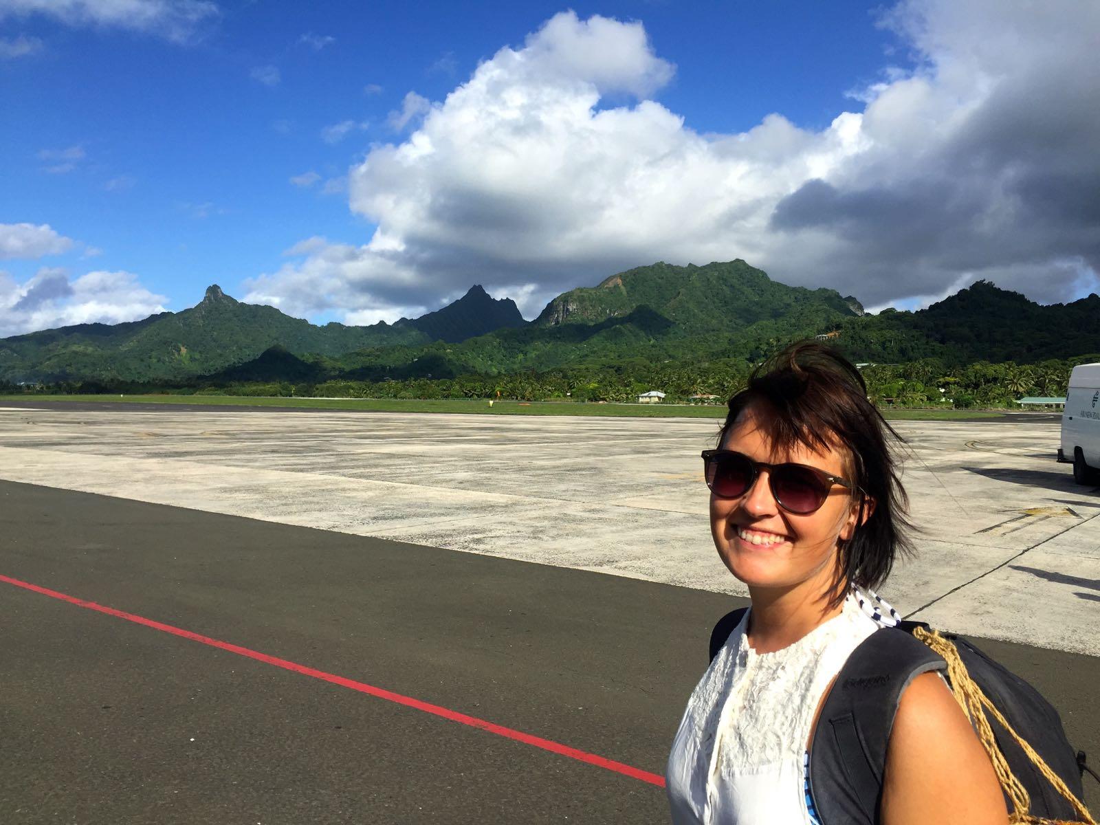 Nyt ollaan Polynesiassa!