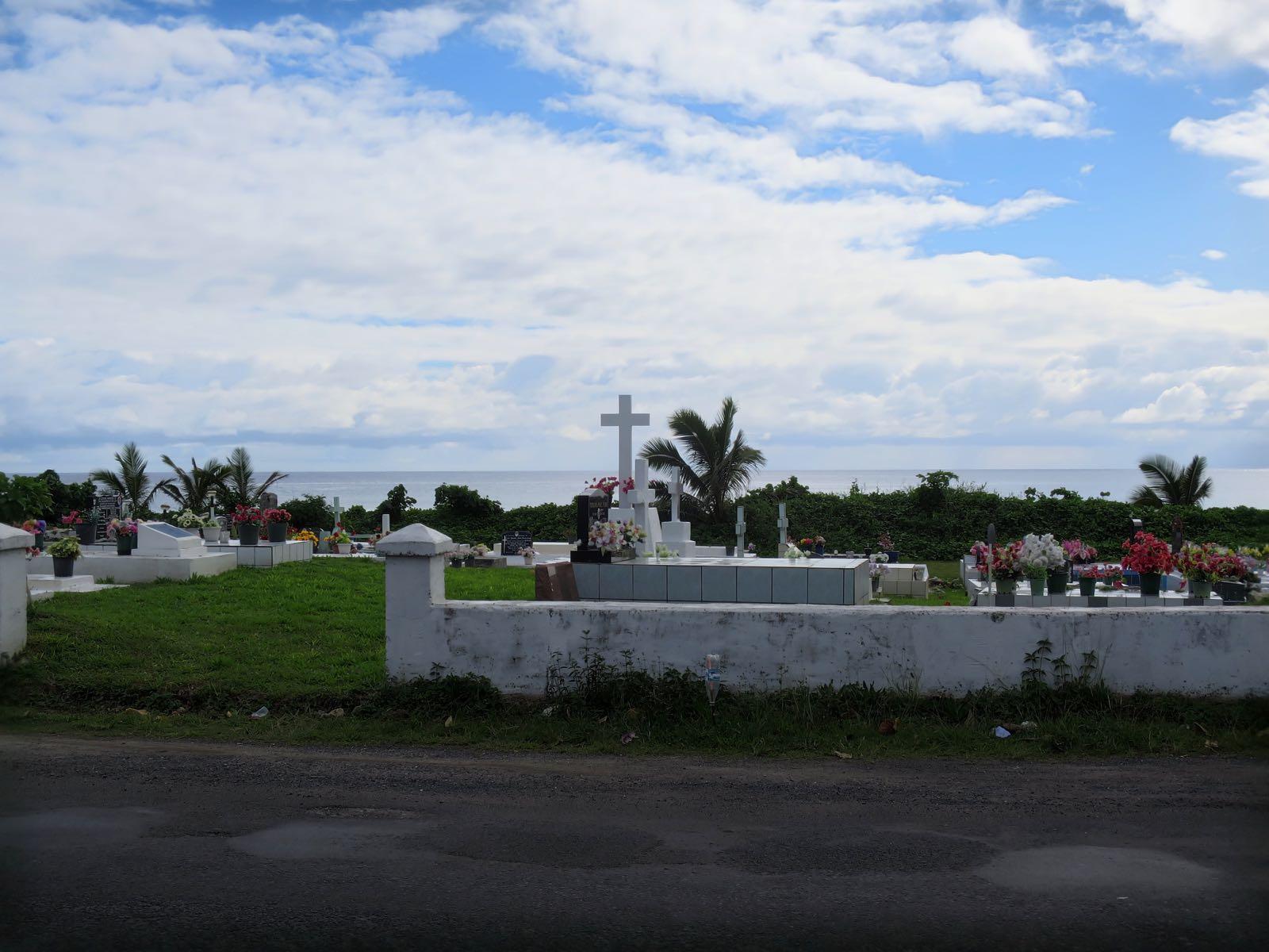 Hautausmaa Rarotongalla