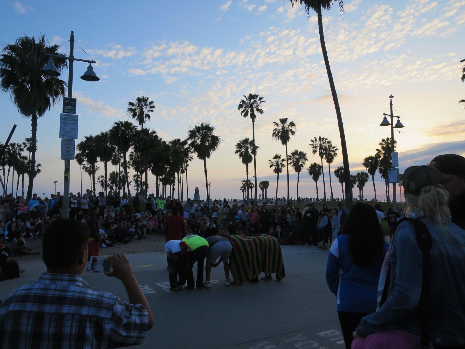 Performanssi Venicen rantabulevardilla