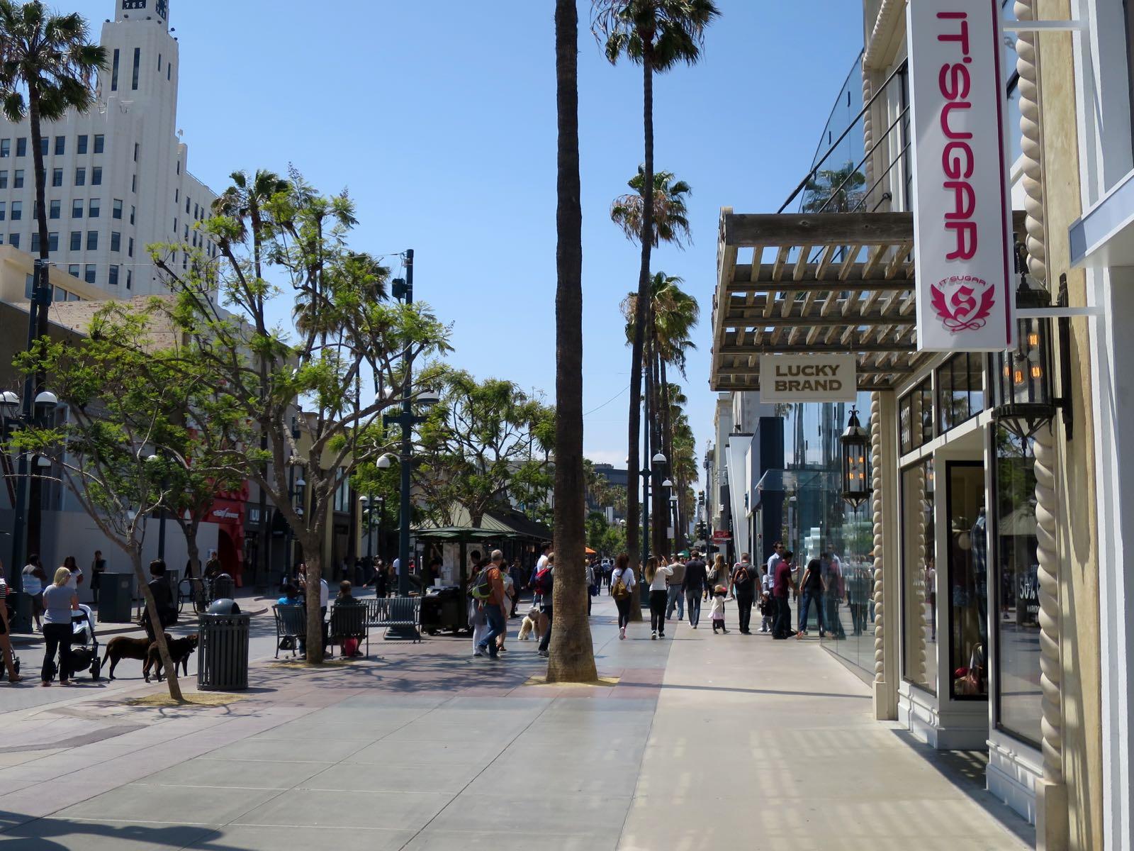Santa Monican kävelykatu