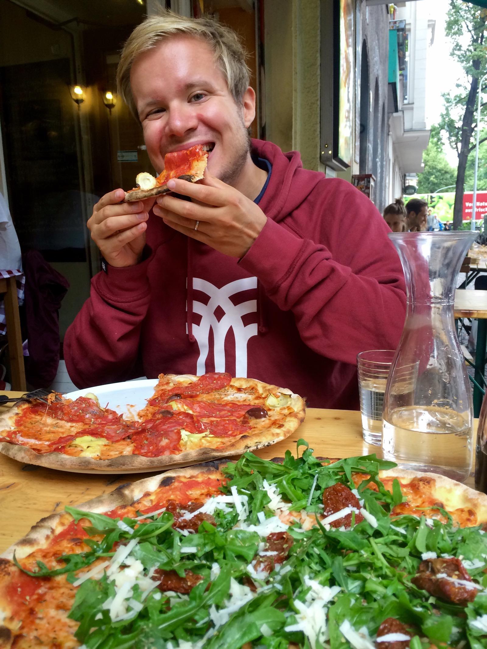 La Tarantellan laadukkaat pizzat Neuköllnissä