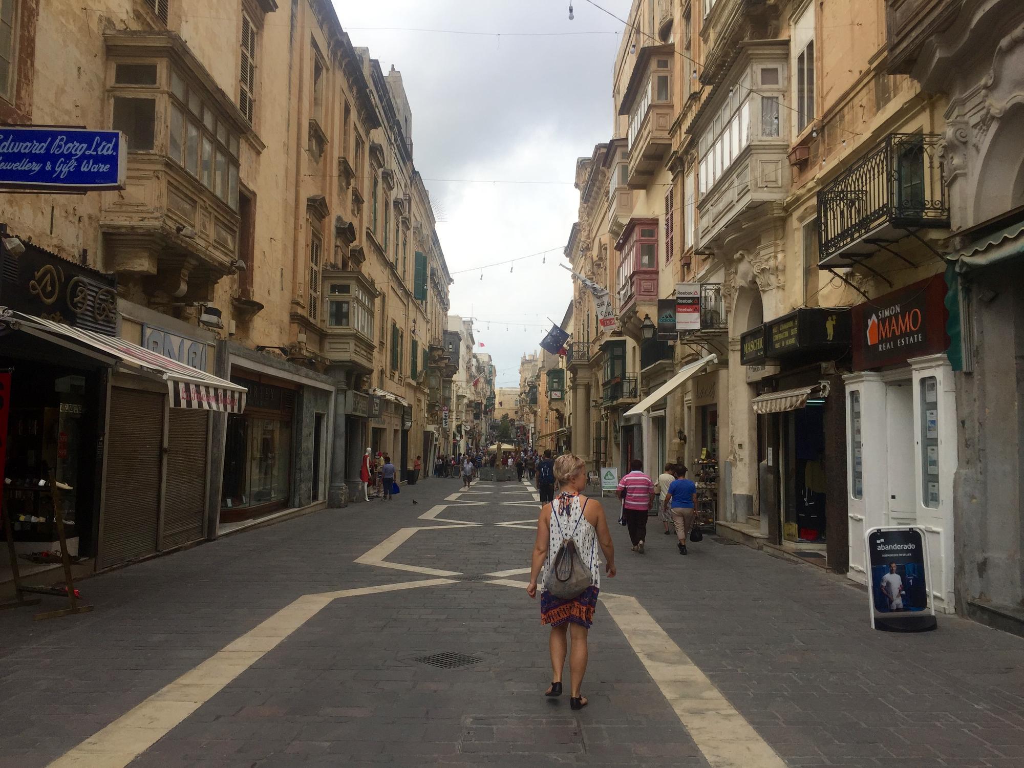 Vallettan katuja